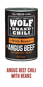 Wolf Brand Canned Homestyle Chili with Beans