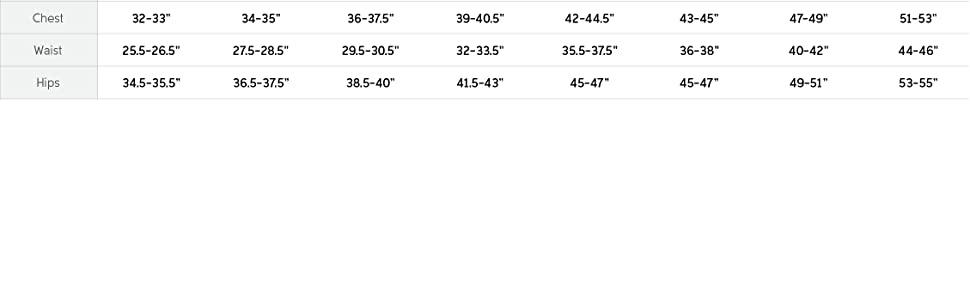 Women's ski pants size and fit guide