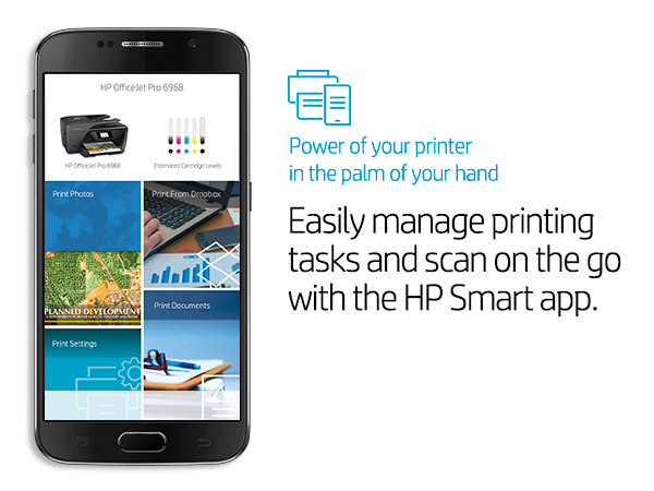 HP OfficeJet Pro 6968 All-in-One Wireless Printer, HP Instant Ink