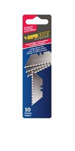 Rapid Edge All Purpose Serrated Utility Knife Blades 100
