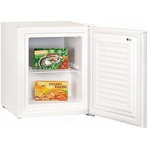 Exquisit GB40-1A+ - Congelador pequeño (A+, 146 kWh/año, 32 litros ...