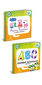 leapfrog 2 Book Combo Pack: Playing Together and Alphabet Adventures