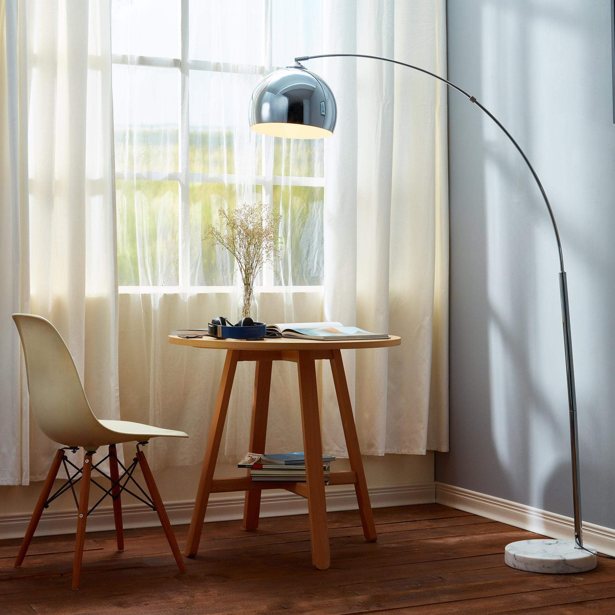 elegant floor arc lamp interior design and home inspiration