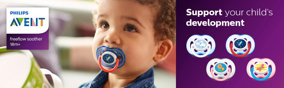 Amazon.com: Chupete ortodóntico Avent de Philips: Baby