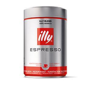 illy Espresso Bohne - normale Röstung - 250g Dose