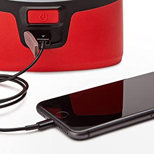 USB charging for devices on the go, camping, traveling, power outages