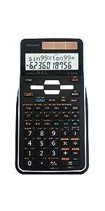 scientific calculator sharp casio canon Texas Instruments TI