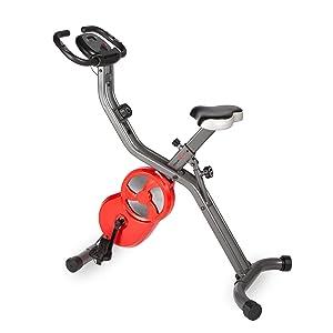 Ultrasport F-Bike PRO Erg/ómetro Professional Bicicleta Est/ática Bicicleta Fitness con consola y sensores de pulso en manillar Aparato Dom/éstico ideal para quemar grasa y mejorar la forma f/ísica