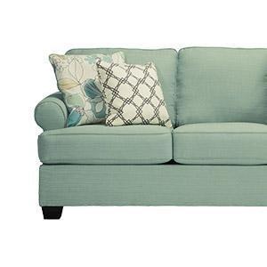 Pleasant Ashley Furniture Signature Design Baveria Traditional Style Rolled Arm Sleeper Sofa Queen Size Mattress Included Fog Machost Co Dining Chair Design Ideas Machostcouk