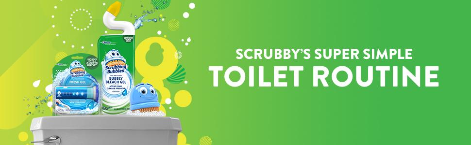 Scrubby's Super Simple Toilet Routine