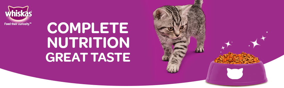 Complete Nutrition and great taste for your cat