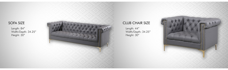 sofa club chair leather upholstery