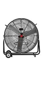 garage fans wall mounted; wall mount oscillating fan