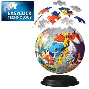 Puzzle 3D Ball Pokémon Easyclick