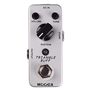 Mooer Triangle Buff pedal fuzz