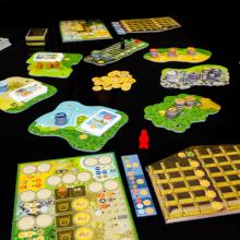 game; board game; altiplano; alpaca; components