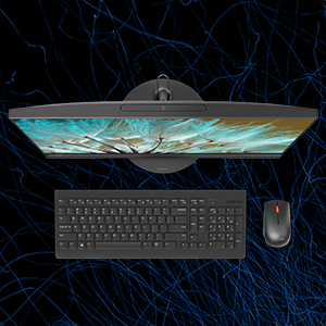 Bundled up with a wireless keyboard & mouse