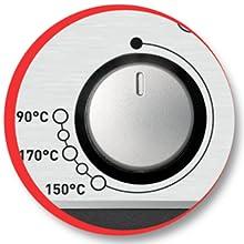 Moulinex Easy Pro AM338070 - Freidora 2300 W de 3 litros con cuba extraíble de acero inoxidable apta para lavavajillas, con 2 niveles de cocción, ...