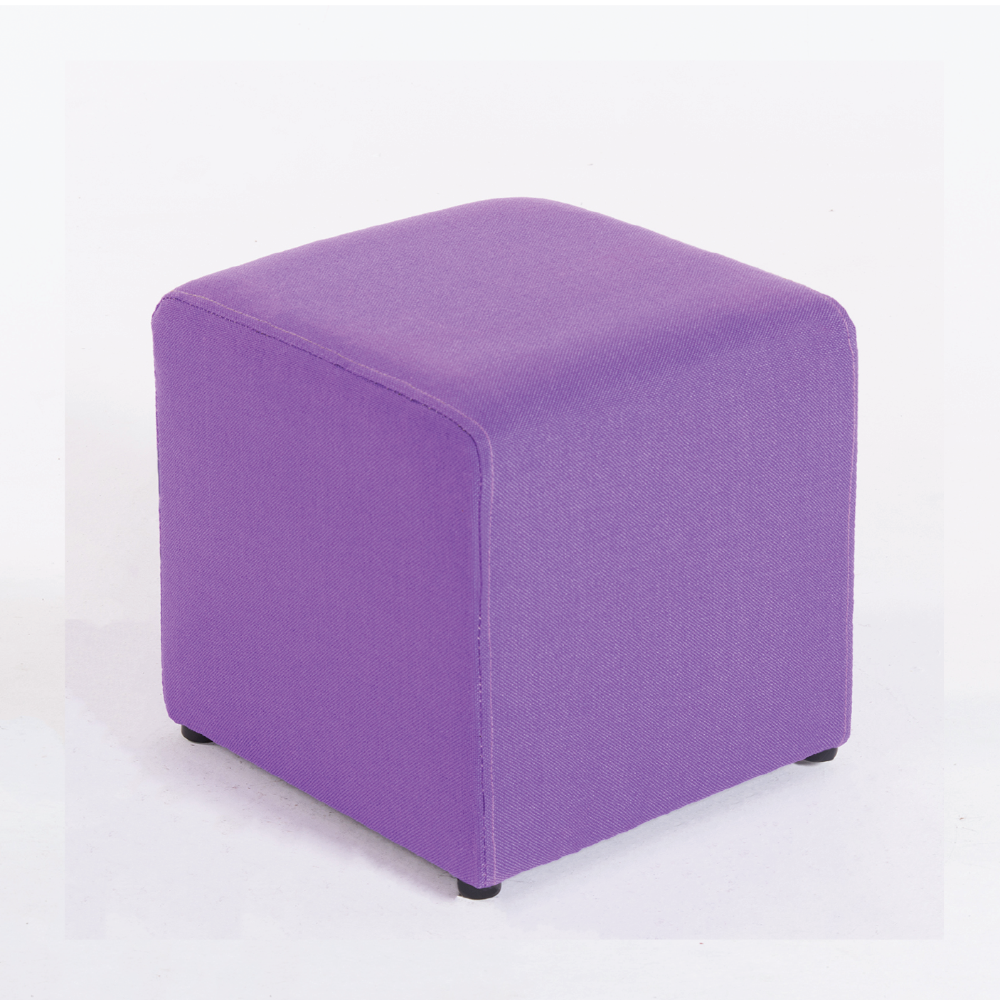 Amazon Com Belleze Modern Cube Ottoman Fabric Upholstered