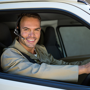 Hands-Free Calling for Truck Driver