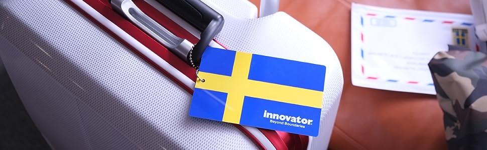 イノベーター カードキー フレーム スーツケース