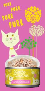 petite cuisine chicken sweet potato wet cat food