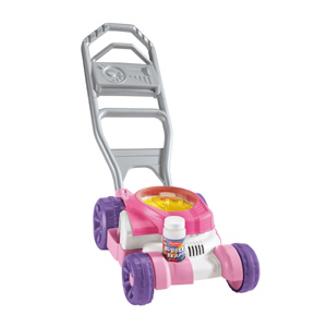 Amazon Com Fisher Price Bubble Mower Pink Toys Amp Games