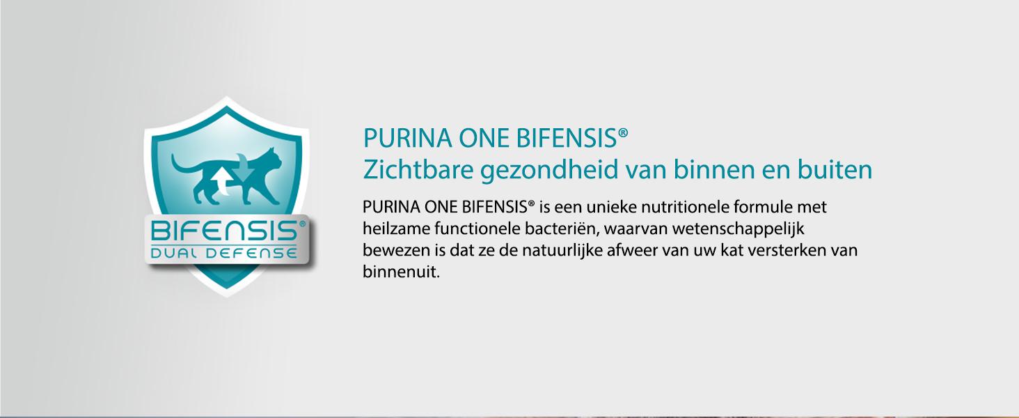 Purina ONE Bifensis kattenbrokjes voor zichtbare gezondeheid
