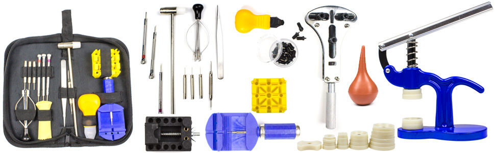 home watch repair tools