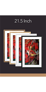 Meural Swivel Mount Frame Wall Mount Allows Switch Orientation of Art Work