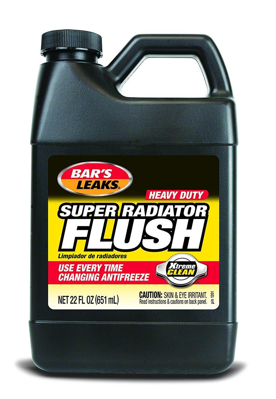How To Flush Coolant System >> Amazon.com: Bar's Leaks 1201 Super Radiator Flush - 22 oz ...