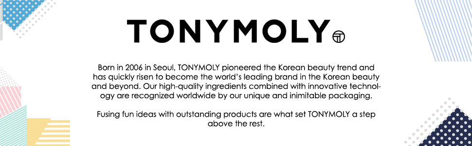 tonymoly, tony moly, k beauty, korean beauty