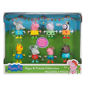 Fliyeong /Kinder Fingerpuppen Set 4er Pack Stilvoll