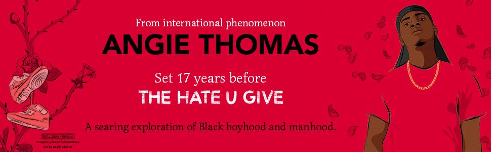 Angie Thomas, THUG, Hate U Give, Black, teen,