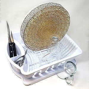 sink set escurridor de platos plastico plastic dish drying rack small dish rack and drainboard set