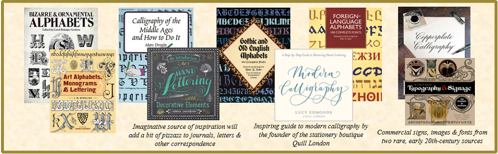 Art Alphabets Monograms And Lettering Lettering Calligraphy Typography Bergling J M Gurney James 0800759831708 Amazon Com Books