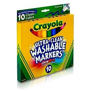 Crayola - Vibrant Broad Line Markers