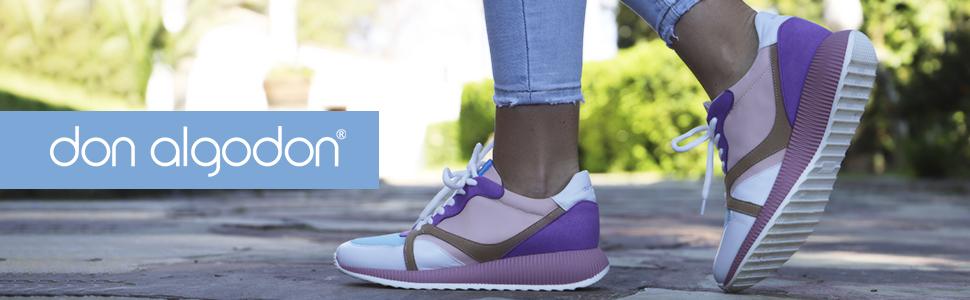 Don Algodon Do015, Zapatillas para Mujer: Amazon.es: Zapatos y complementos