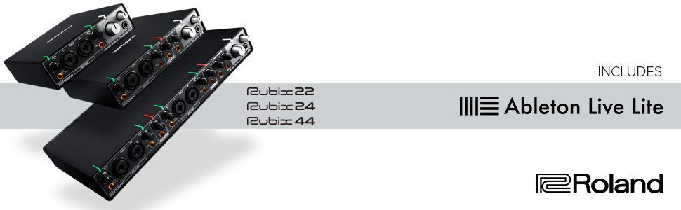 Roland; Rubix22; USB Audio interface; home production; music production