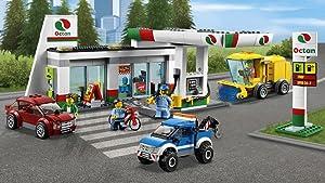 Building option 1: Gas Station