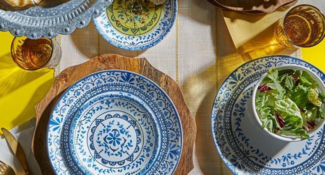 kitchen;ware;kitchenware;dinner;plate;bowl;set;dinnerset; Livingware;Corelle