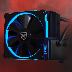 Nfortec Hydrus 120 Red - Refrigeración Líquida, color negro: Amazon.es: Informática