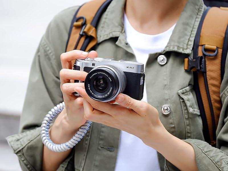 Fujifilm X-A7 vlog 4k 6k