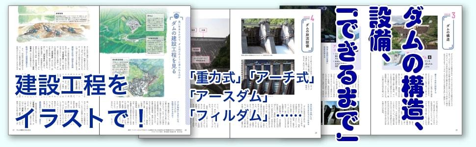 ダム 建設 重力式 アースダム フィルダム