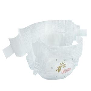 eco by naty ecological diaper natural material on baby's skin certified biodegradable healthy baby