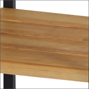 おしゃれ 棚 スチール スチールラック 木棚 シンプル 天然木 ヴィン テージ ナチュラル アンティーク