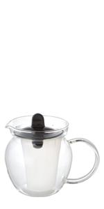 ティーポット 耐熱ガラス 紅茶ポット