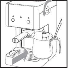 macchina caffè espresso, caffè macinato, cialde, caffè