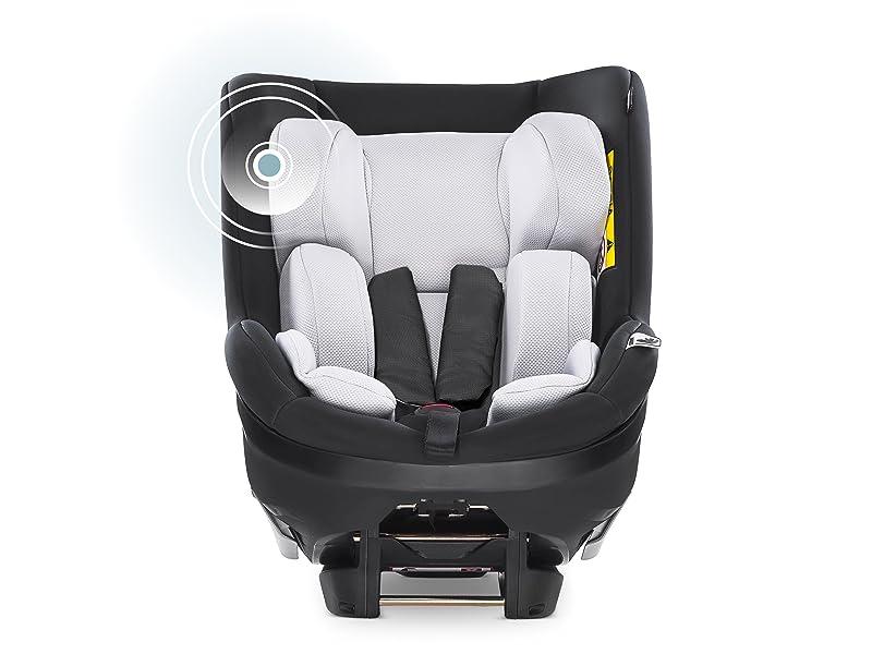 Hauck Ipro Kids I Size Reboard Kindersitz Ab Geburt Bis 18 Kg Mitwachsender Baby Autositz Entgegen Der Fahrtrichtung Mit Neugeborenen Einlage Kompatibel Mit Isofix Basis Schwarz Baby
