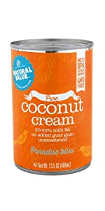 pure natural value coconut cream